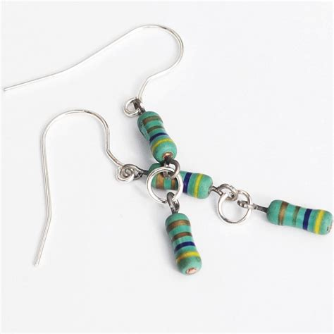 green resistor inductor green resistor earrings by tanith rohe on deviantart