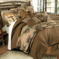 King Size Duvet Cover Sale Rustic Bedding Crestwood Pinecone Bedding Collection