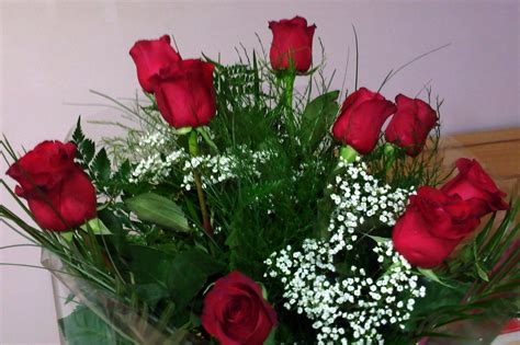 rosse fiori foto casa facile felice mazzo rosse bouquet www