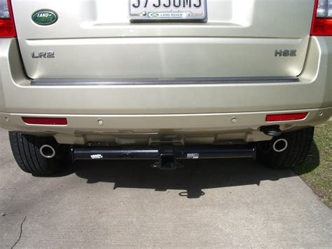 custom land rover lr2 2010 land rover lr2 trailer hitch draw tite