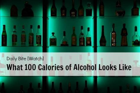 What Daily Detox Looks Like Alcoholism by Daily Bite What 100 Calories Of Looks