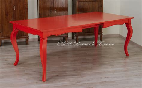 tavoli colorati tavoli allungabili laccati colorati tavoli