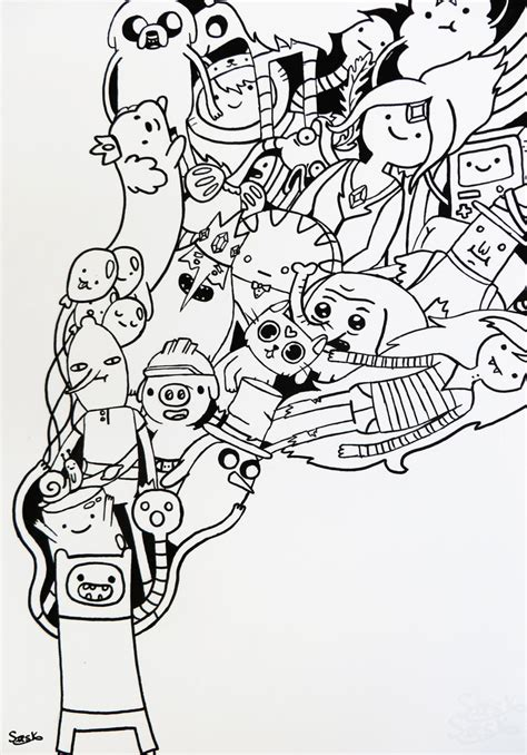 doodle characters adventure time doodle by zilverlovely on deviantart