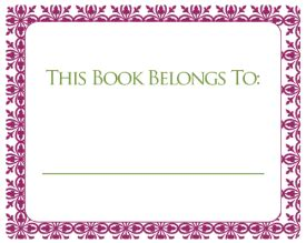 bookplate template bookplate labels for free in printable templates