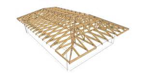 Hip Roof Trusses complex 11 timber trusses truss frame construction
