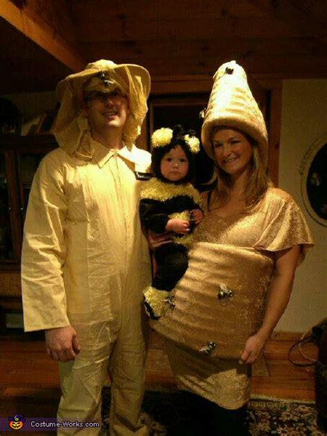 beehive  bee  beekeper family halloween costume