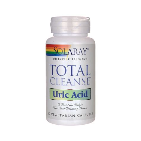 Total Detox Supplement by Total Cleanse Uric Acid 60 Veg Caps