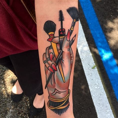 makeup tattoo designs 15 impossibly cool inspired tattoos tattoos