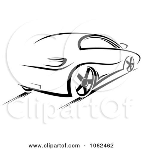 cartoon sports car black and white clipart black and white sleek sports car royalty free