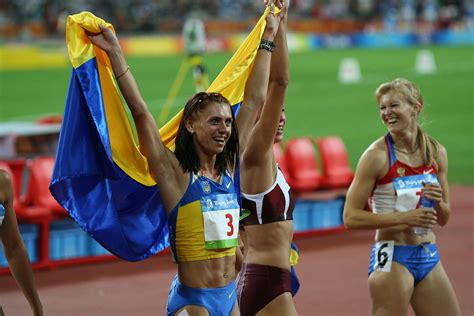 to the olympics lyudmyla blonska