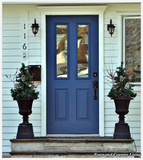 Blue Exterior Door Indigo Blue Front Doors Front Door Freak