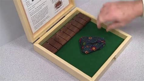 diy shut  box game  woodworking project youtube