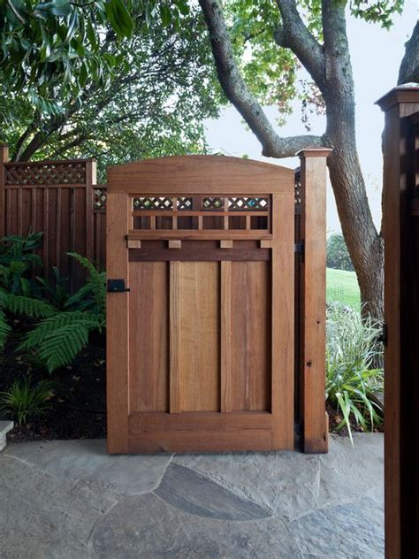 a craftsman bungalow seeded earth photo 25 best ideas about wooden gate designs on pinterest