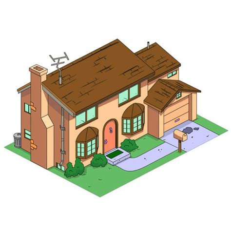 free 3d file the simpsons house cults