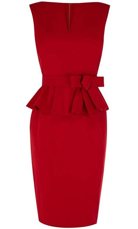 karen millen boat neck dress the online high street hottest best in store peplum