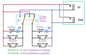 tweeter speaker cabinet wiring diagram tweeter free engine image for user manual