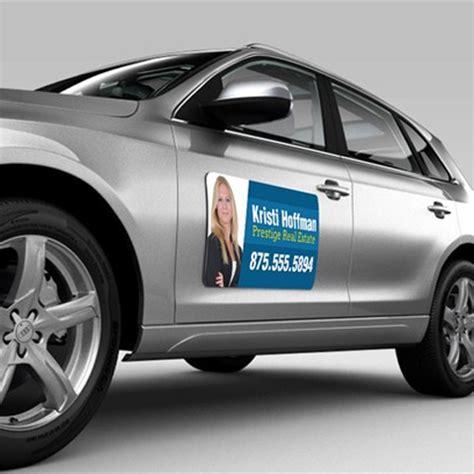 Car Sticker Drucken by Car Signs Magnetic Van Signs Helloprint