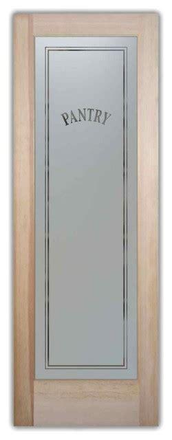 24 X 80 Pantry Door by Pantry Door Classic Design Frosted Glass Door 24 X 1 375 X 80 Traditional Interior Doors