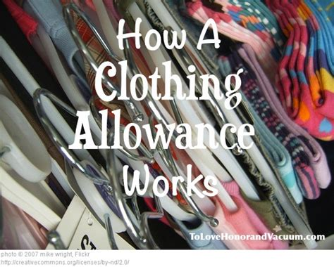 Wardrobe Allowance by Clothing Allowance For Teenagers To Teach Budgeting