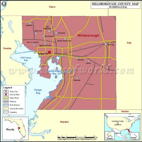 zip code map ta hillsborough county hillsborough county map florida