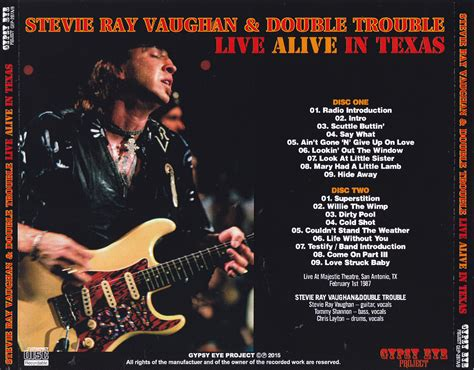 stevie ray vaughan double troubles  alive  texas cdr giginjapan