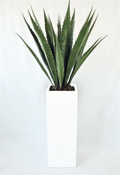 agave vaso agave artificial plants for indoor outdoor use