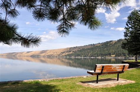 bed bath and beyond rutland vt file wallowa lake state park bench jpg wikimedia commons