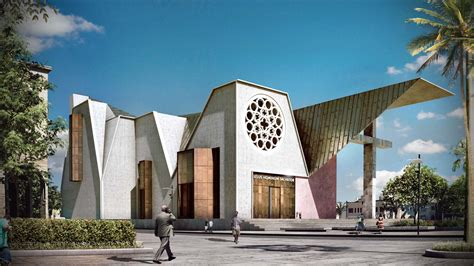 www architecture haiti cathedral design the result of two opposite