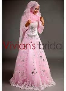 Model gaun pengantin muslim modern terbaru 2015 elegan mewah cantik