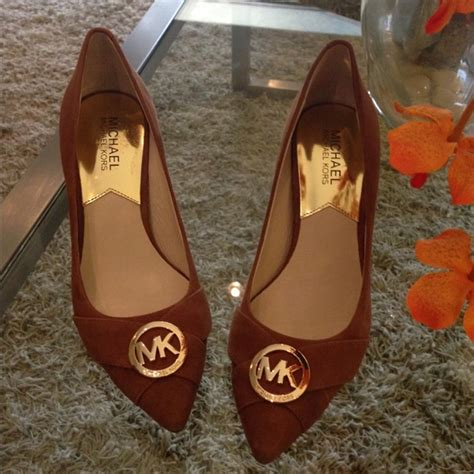Mk Caroline 52 michael kors shoes mk suede caroline from