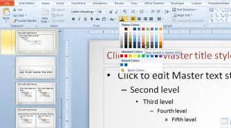 how to change font color how to change default font color in a powerpoint