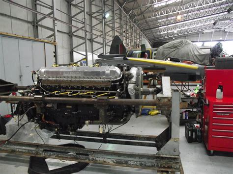 rolls royce merlin engine from merlin to griffon spitfire development project