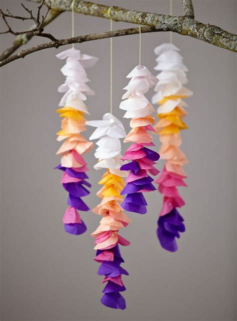 Crafts Made From Paper - creative tissue paper crafts for and adults hative