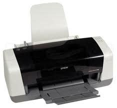 Printer Epson C63 cara self test printer