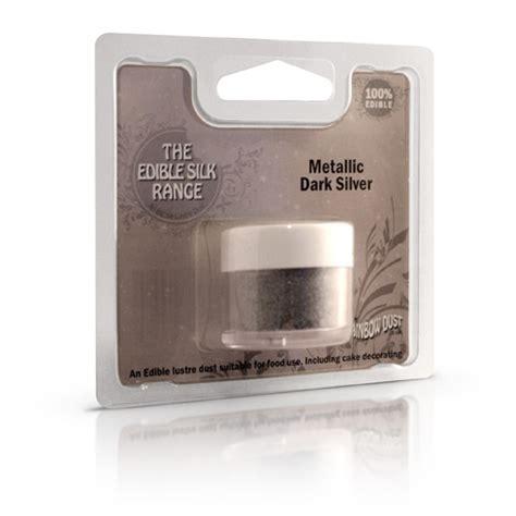 colorante alimentare argento colorante in polvere rainbow dust argento scuro