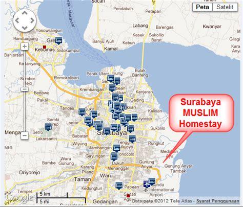 Peta Angkot Surabaya 2 Klp petunjuk ke surabaya homestay muslim surabaya homestay