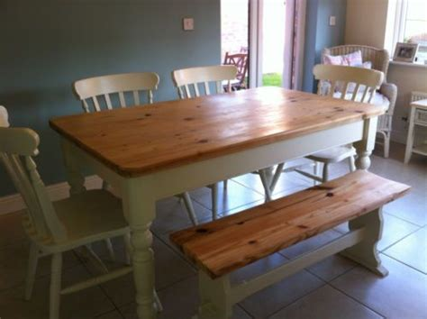 pine kitchen table and benches pin by janes shabby chic furniture on for sale by me