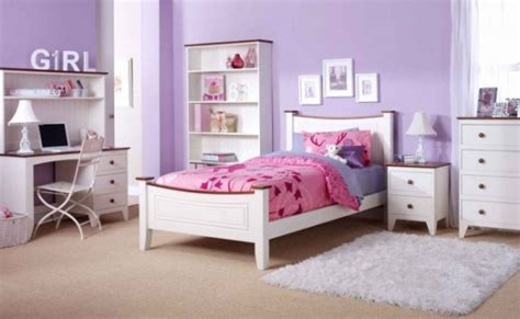 Awesome Girl Teenage Bedroom Ideas #1: White-Purple-Teenage-Girls-Bedroom-Ideas.jpg