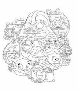 angry birds wars rebels coloring pages angry birds wars coloring page my free coloring