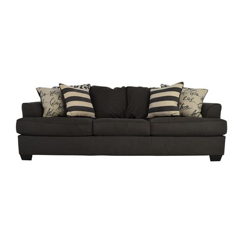 ashley furniture grey sofa sofas ashley furniture hariston sofa by ashley furniture