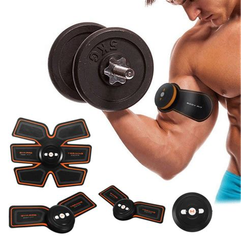 Smart Abs Trainer other exercise smart ems abs fit gear abdominal home exercise shape
