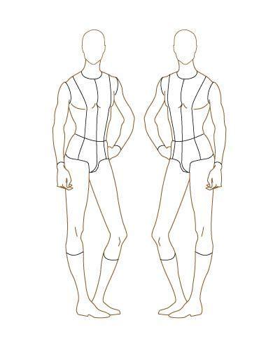 Fashion Design Template On Pinterest Fashion Sketch Template Fashion Illustration Template Costume Design Template