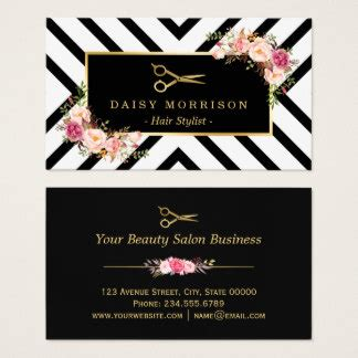 business cards templates for hairstylist business cards templates zazzle