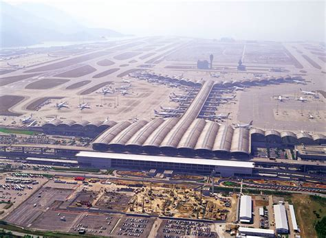 world visits hong kong international airport and airline
