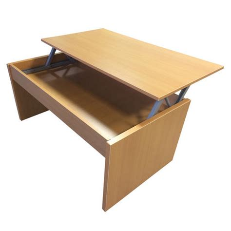 lift top coffee table with storage beech furniture