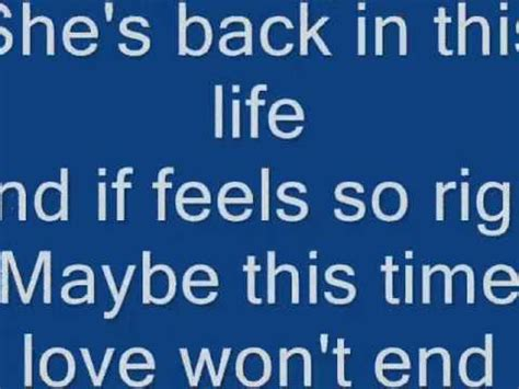 Maybe This by Maybe This Time David Pomeranz With Lyrics