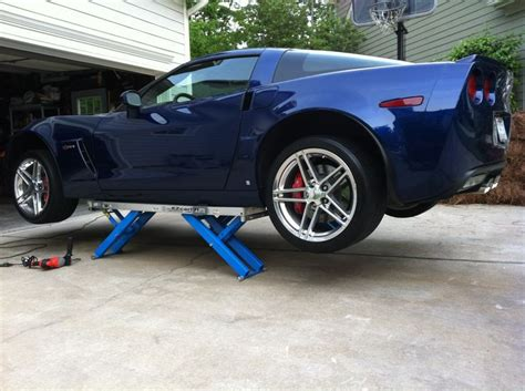 lifted corvette the best car lift for a c6 z06 corvette products i love