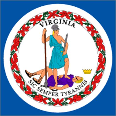 meaning of vas virginia state flag