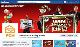 Publishers Clearing House Facebook - publishers clearing house ups sweepstakes appeal via facebook superfans 04 05 2013