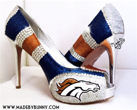denver broncos high heels shoes denver broncos denver broncos heels denver